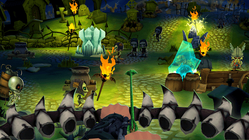 Skull Tower Defense: Epic Strategy Offline Games 1.1.3 screenshots 6