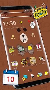 Brown Bear Cartoon Theme - náhled