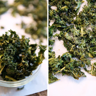 Spicy Sesame Kale Chips