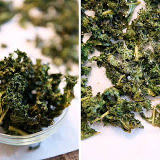 Spicy Sesame Kale Chips.