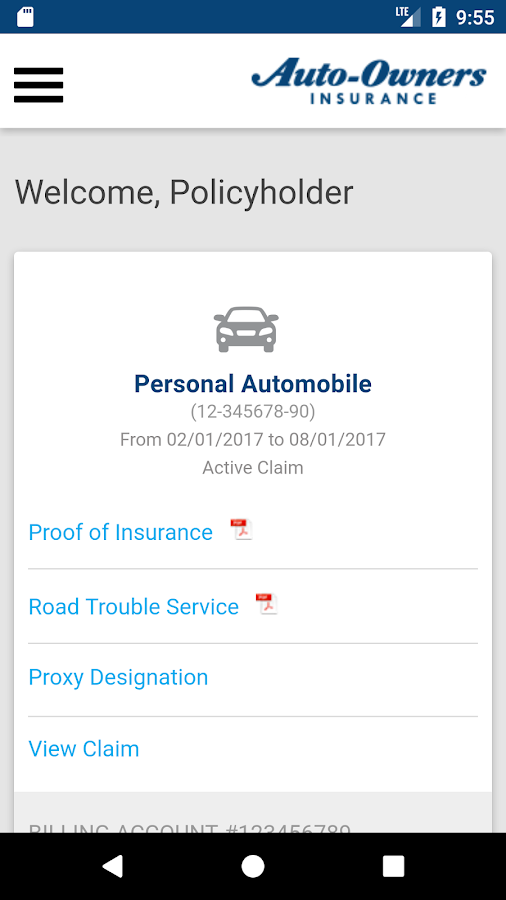 Auto-Owners Mobile- screenshot