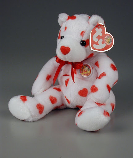 Stuffed animal:Heartthrob | Beanie Baby of the Month