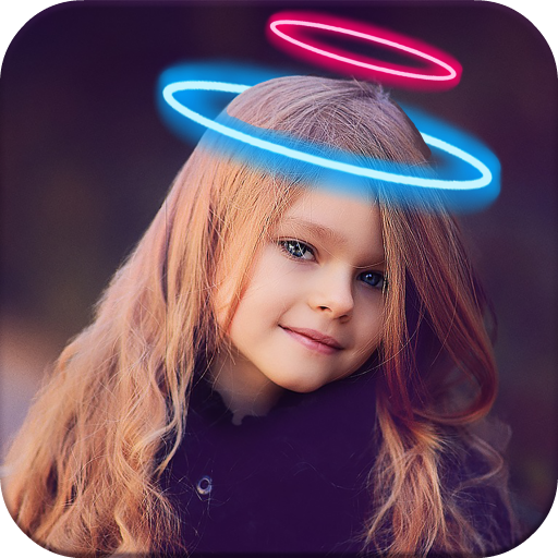Angel Crown Photo Editor Icon