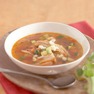 Yucatan-Style Turkey and Vegetable Soup