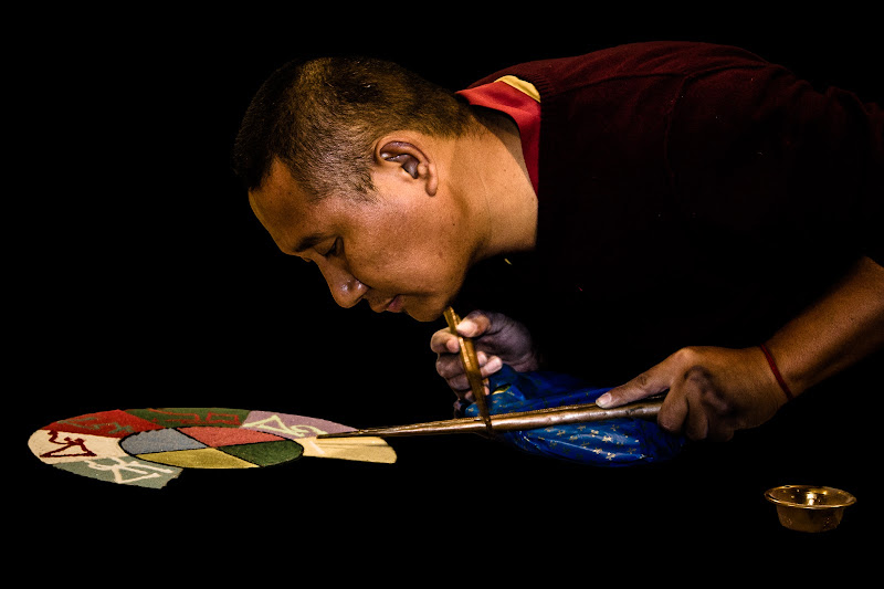 Il disegno tibetano di NickAdami