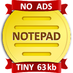 NOTEPAD Simple AdFree 3.4