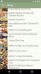 Offline Recipes- screenshot thumbnail