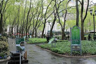 Photo: Bryant Park, Manhattan, New York