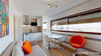 Studio meublé 27,97 m2