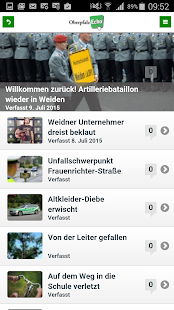 OberpfalzECHO News Weiden- screenshot thumbnail