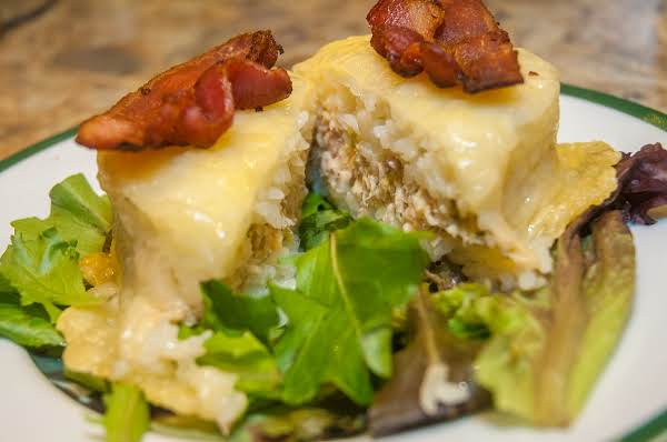 Light Essentials: Tuna, Rice & Cheese Tower Recipe