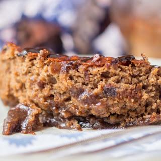Ouma Lena's chocolate pudding cake – veganized!