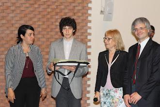 """Photo: I premio: Simone Massidda, Liceo Ginnasio di Stato """"Dante"""" di Firenze"""