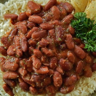 Latin American-Style Red Beans and Rice.