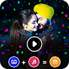 Heart Effect Photo Video Maker - Photo Animation