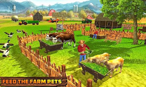 Code Triche Khakassia Organic Tractor Farming Simulator 2019 mod apk screenshots 4