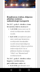 Jelgavas Satiksme - náhled