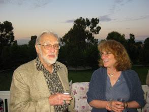 Photo: Professors Duncan Luce and Elizabeth Loftus