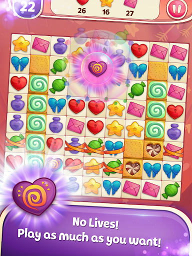 Sweet Hearts - Cute Candy Match 3 Puzzle  screenshots 6