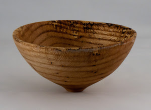 "Photo: Tim Aley - 7 1/4"" x 4"" bowl [oak]"