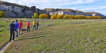 Photo: Heading back from the canyons Thursday afternoon - Next up: Eagle Creek drainage