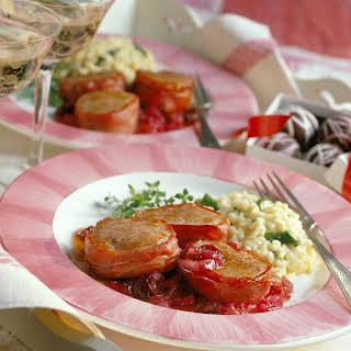 Pork Tenderloin with Cherry Marmalade.