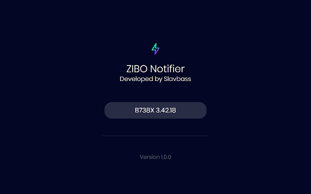ZIBO Notifier