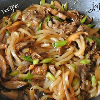 Japanese Yaki Udon Recipe For Beginners.