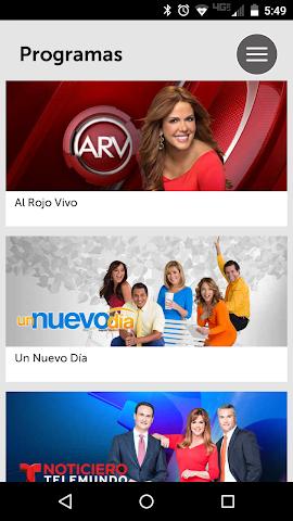 android Noticias Telemundo Screenshot 2