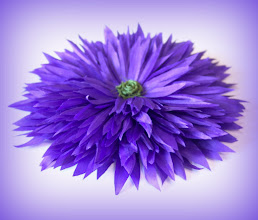 """Photo: Брошь-цветок """" А мне фиолетово!"""" Цветы из ткани - цветоделие"""