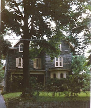 Photo: Philadelphia, Chestnut Hill. Almost a duplicate of the previous house, they are on the same street.
