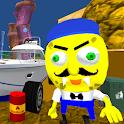 Sponge Neighbor Escape 3D icon