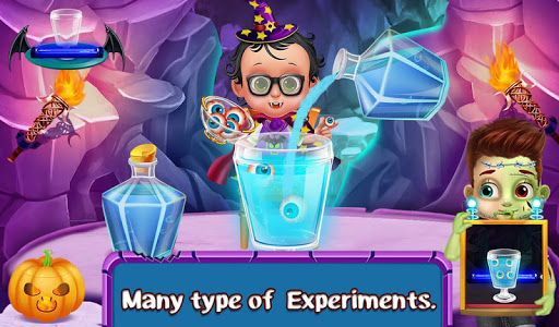 玩免費休閒APP|下載Halloween Science Experiments app不用錢|硬是要APP