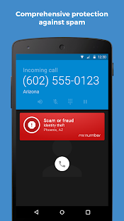 Mr. Number-Block calls & spam: miniatura de captura de pantalla