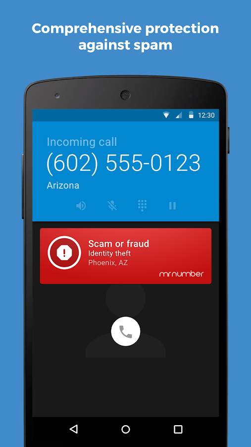Mr. Number-Block calls & spam: captura de pantalla