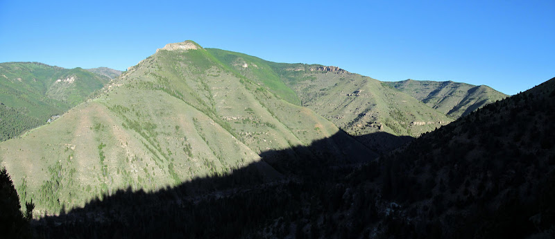 Photo: Big ridge north of Crandall Canyon