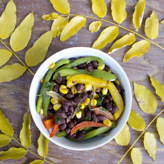 Super Easy Vegan Black Bean Fajitas with a Twist
