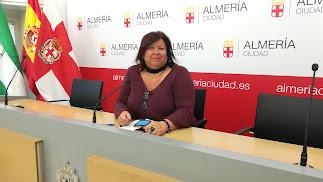 Amalia Román, concejal del Grupo Municipal de IU