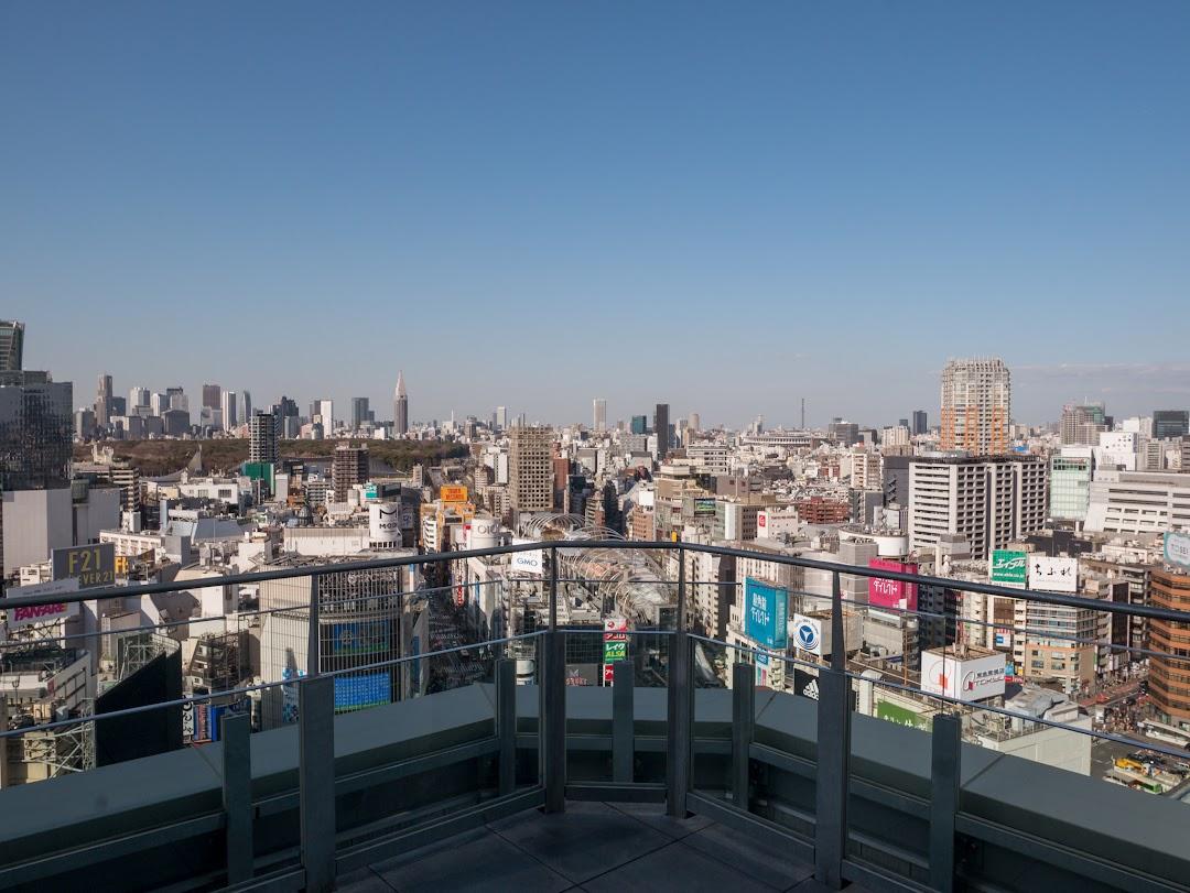 SHIBU NIWAの展望スペース