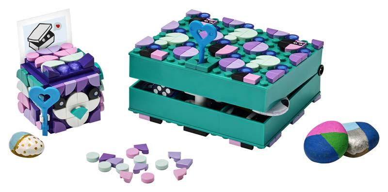 Contenido de Lego® 41925 Cajas Secretas
