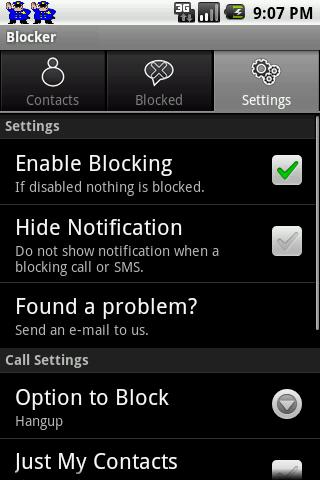 SMS & Call Blocker LITE screenshot 7