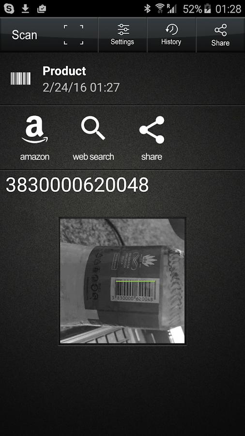 QR Code Reader PRO- screenshot