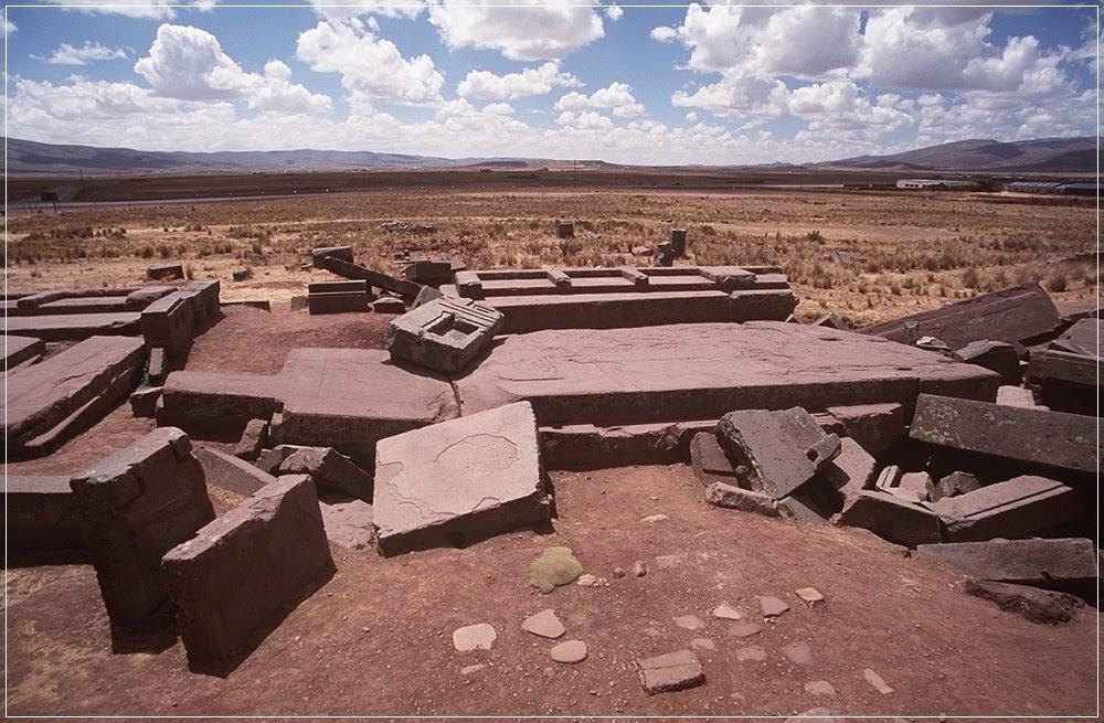 Puma Punku, o misterioso complexo na Bolívia
