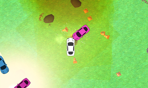 Car Crash: Destruction Derby Rampage 2D - náhled