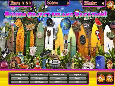 Hidden Objects Hawaii Vacation screenshot 1