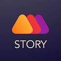 Mouve - animated video story maker for Instagram icon