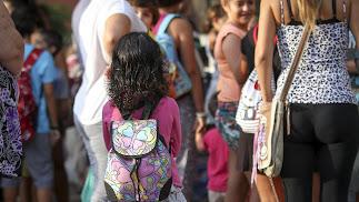 El curso escolar 2018/19 supone el regreso de más de 163.000 alumnos no universitarios a las aulas.