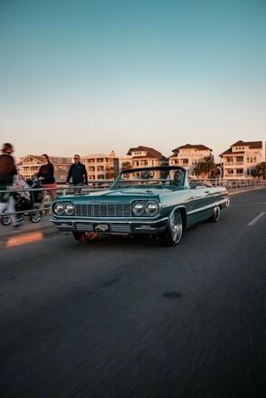 1964 Chevrolet Impala Convertible Hire NC