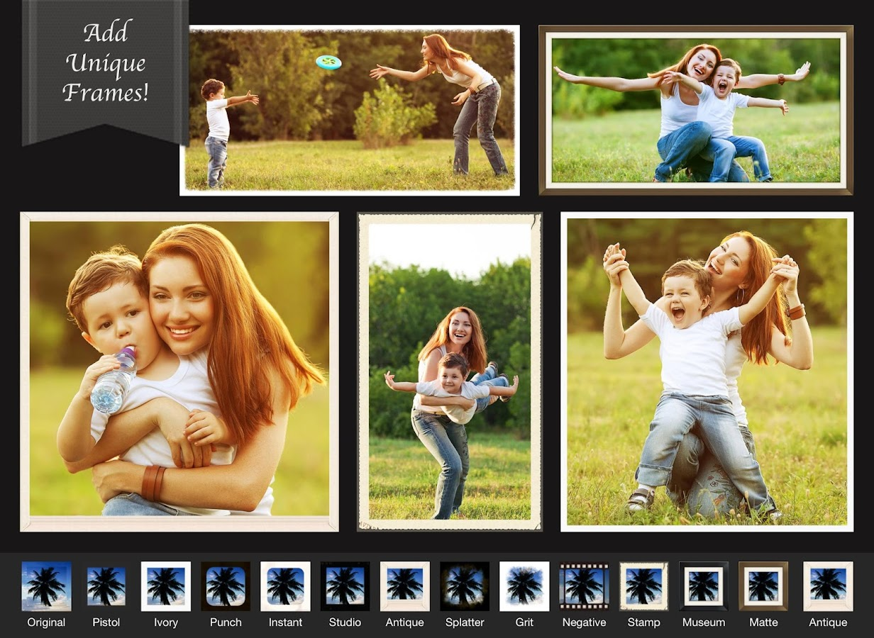Screenshots of Photo Editor- for iPhone