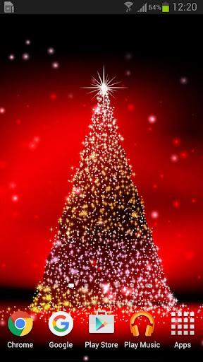 耶誕樹動態桌布